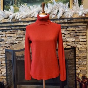 Josephine Chaus Red Turtleneck Sweater